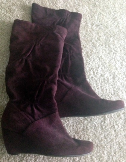 Kenneth Cole Reaction purple Boots