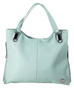 Vince Camuto Riley Leather Tote in Turquoise