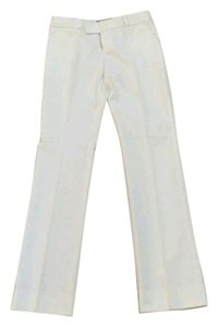 Banana Republic Straight Pants white