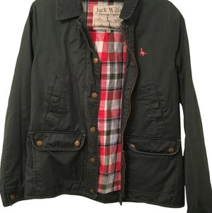 Jack Wills Military Green Jacket