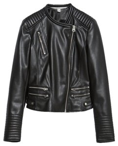 Zara Leather Leather Jacket