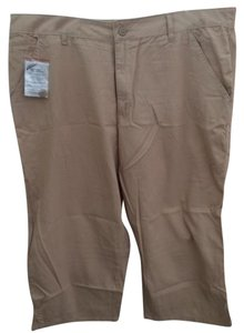 Woman Within Capris Khaki
