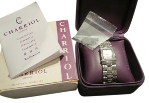 Charriol Philippe CHARRIOL Philippe Womens Diamond Stainless Steel Watch Colvmbvs 6399 Columbus