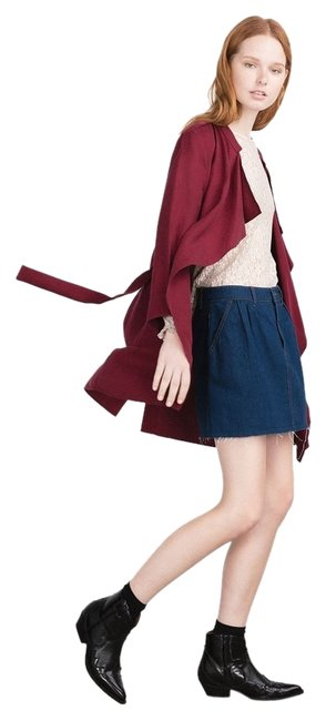 Item - Red Burgundy New Tags Jacket S Coat Size 4 (S)