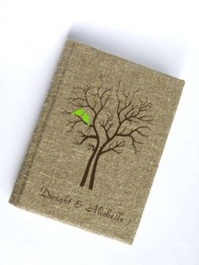 Preload https://item1.tradesy.com/images/rustic-guest-book-burlap-linen-guest-book-bridal-shower-engagement-anniversary-green-cardinals-tree--145230-0-0.jpg?width=440&height=440