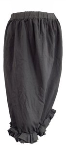 Comme des Garçons Gray Chacoal Pencil Bubble Fall Skirt