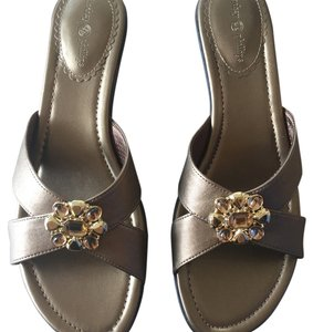Lindsay Phillips Bronze Sandals