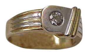 Other Vintage 14K 2-Tone Gold Ladies Ring: .20ct Diamond ,ART DECO,1930s