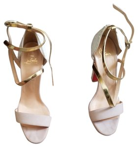 Christian Louboutin Ivory Sandals