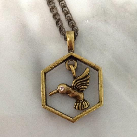JK by Thirty-One Hummingbird Necklace
