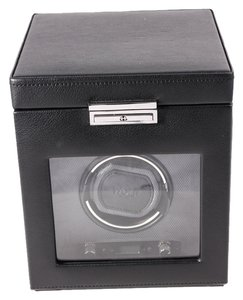 Wolf * WOLF 270302 Heritage Single Watch Winder with Cover and Storage