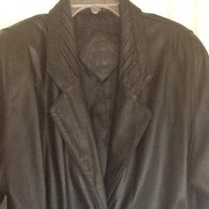 Jacqueline Ferrar Vintage Winter Fall Trench Coat