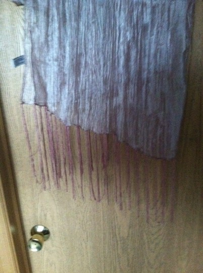 Other Metallic Mauve Scarf