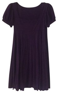 Soprano short dress Purple on Tradesy