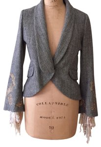 Robert Rodriguez Black/white tweed Blazer