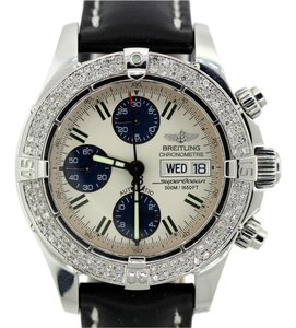 Breitling MEN'S BREITLING SUPEROCEAN 2CT DIAMOND WATCH