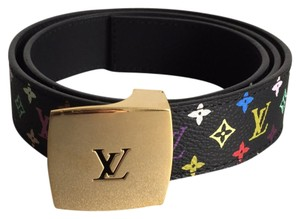 Louis Vuitton Takashi Murakami Multicolor Belt
