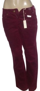 Jones New York Boot Cut Pants Wine