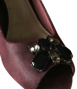 Giani Bernini Deep Plum Pumps