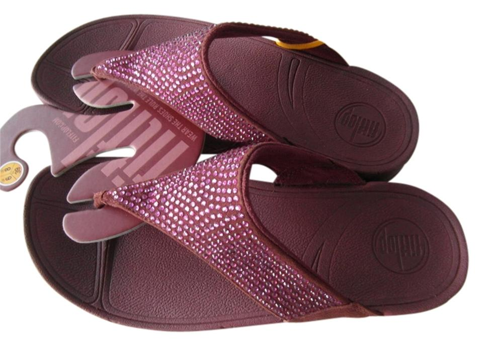 6c8851b282a25 FitFlop Java Brown New Women s Rokkit In Suede Sandals. Size  US 8 ...