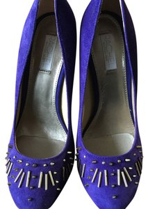 Rachel Roy Med Blue Pumps