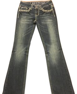 Miss Chic Jeans Boot Cut Jeans