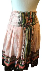Other Lace Trim Skirt Multi