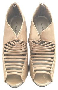 Charlotte Russe Taupe Platforms