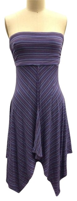Plenty by Tracy Reese short dress Purple multi Summer Vacation Cotton Sexy on Tradesy