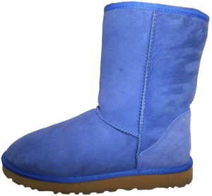 0d6aaa10baa UGG Australia Blue Uggs Style 5825 Shearling Suede Leather Fur Classic  Short 5825 Nice Boots/Booties Size US 11 Regular (M, B)