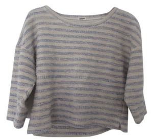 L'AGENCE Three Quarter Sleeve Lightweight Sweater