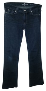 7 For All Mankind Pants Boot Cut Jeans-Dark Rinse