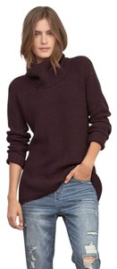 Abercrombie & Fitch Turtleneck Knit Minimalist Sweater