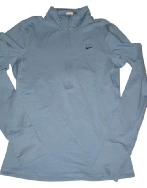 Preload https://item2.tradesy.com/images/nike-light-blue-fit-dry-pullover-running-dancing-activewear-size-4-s-145281-0-0.jpg?width=400&height=650