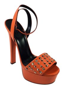 Gucci Heels Heels Orange Platforms