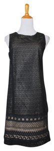 Ann Taylor LOFT short dress Black Lace on Tradesy
