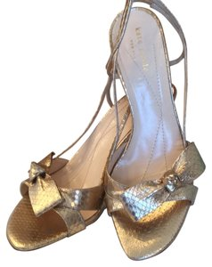 Kate Spade Gold metallic Formal
