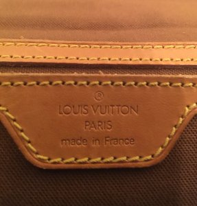 Louis Vuitton Satchel in Original brown