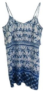 Rory Beca short dress Blue White on Tradesy
