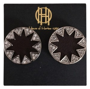 House of Harlow 1960 Star burst with rhinestones