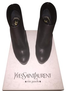 Saint Laurent Dark Gray Boots
