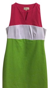 Britt Ryan short dress Pink Green on Tradesy