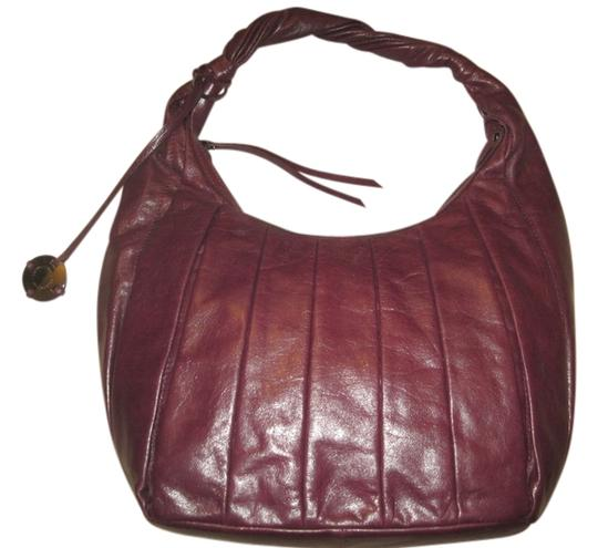 Preload https://item2.tradesy.com/images/donald-j-pliner-pleated-with-twist-strap-shoulder-bagtote-purpleburgundy-leather-hobo-bag-1452951-0-0.jpg?width=440&height=440