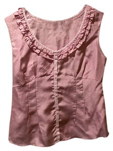 Gap Silk Top Pink