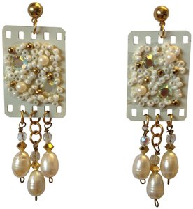 Other FilmCraft Genuine Pearl Earrings - [ Roxanne Anjou Closet ]