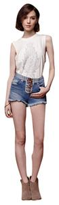 House of Harlow Short Cut Off Shorts Jean