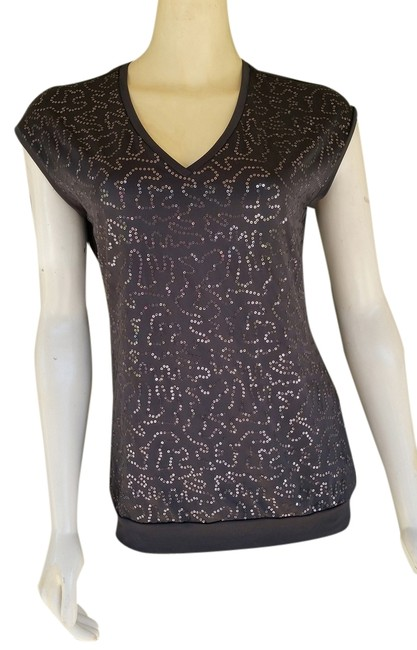 Preload https://item5.tradesy.com/images/banana-republic-gray-sequin-front-small-s-tank-topcami-size-6-s-1453224-0-0.jpg?width=400&height=650