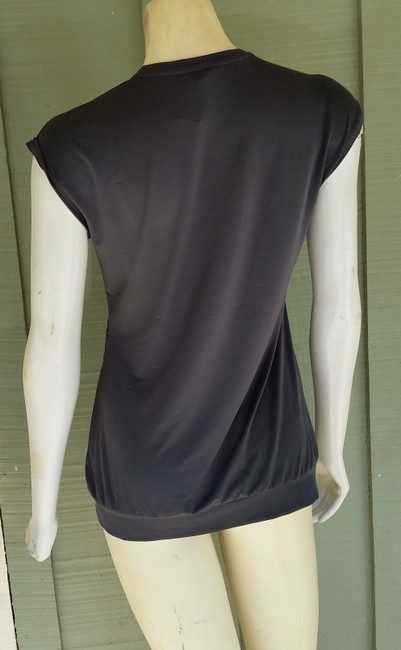 Banana Republic Sequin Slinky Top Gray