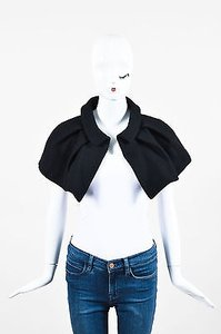 Louis Vuitton Wool Pleated Mini Cape