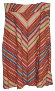 Lauren Ralph Lauren Southwestern Striped Skirt Multi